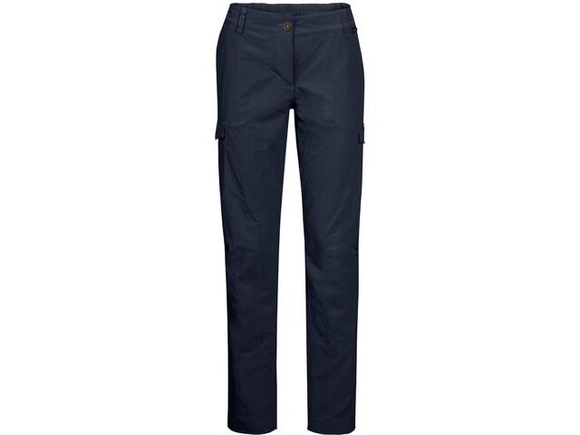 Jack Wolfskin Lakeside Pantaloni Donna, midnight blue
